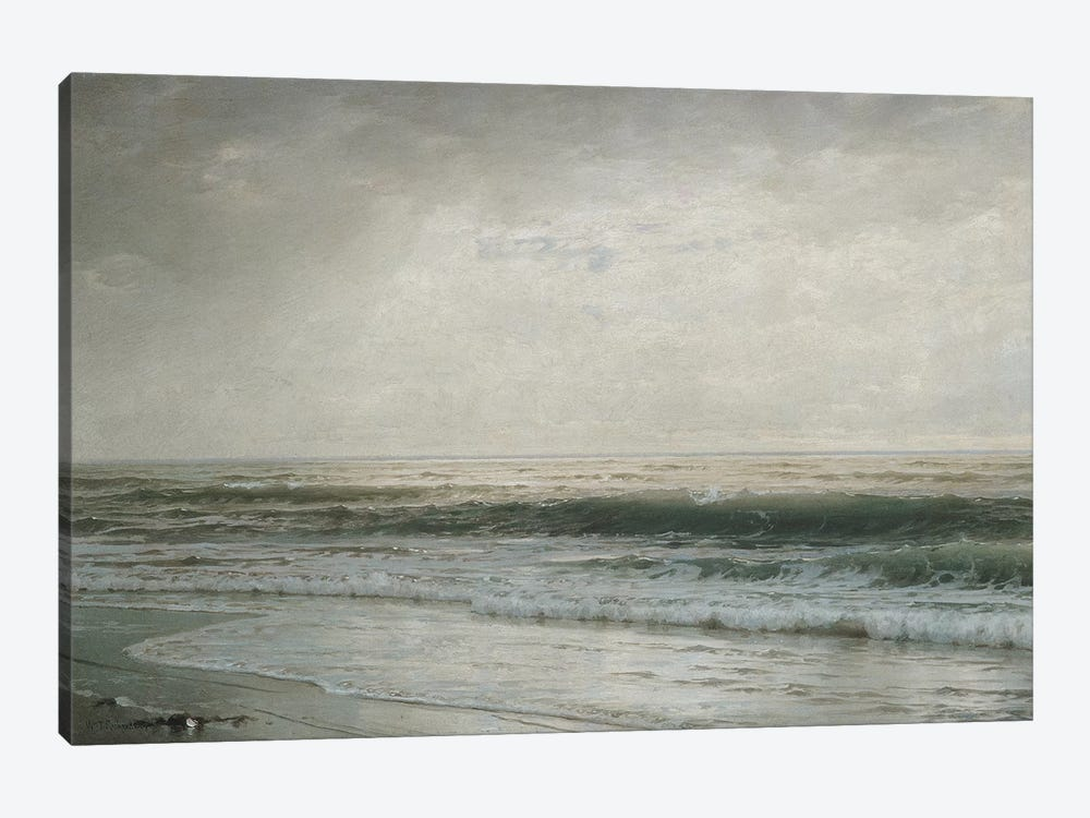 New Jersey Beach by William Trost Richards 1-piece Canvas Print