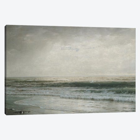 New Jersey Beach 3-Piece Canvas #WAG91} by William Trost Richards Canvas Art