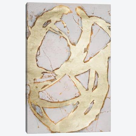 Ace of Spades in Gold II Canvas Print #WAG97} by Erin Ashley Canvas Print