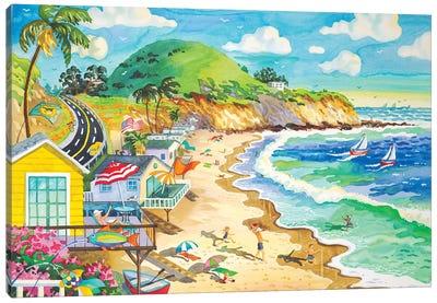 El Morrow Trailer Park Canvas Art Print