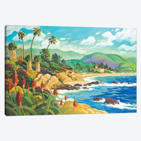 In Love With Laguna Canvas Print #WAL13} by Robin Wethe Altman Canvas Art Print