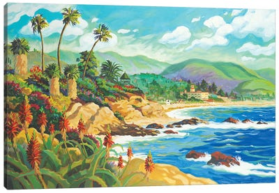 In Love With Laguna Canvas Art Print