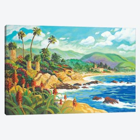 In Love With Laguna Canvas Print #WAL13} by Robin Wethe Altman Canvas Art Print