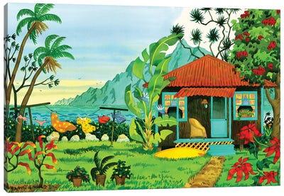 Island Getaway Canvas Art Print
