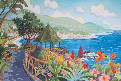 Robin Wethe Altman Watercolor Painting Art Print The Montage California Laguna