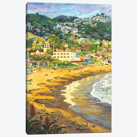 Last Light On Laguna Gary's Canvas Print #WAL16} by Robin Wethe Altman Canvas Artwork