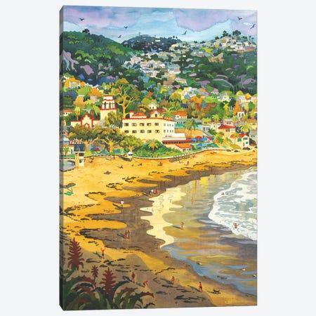 Last Light On Laguna Gary's Canvas Print #WAL16} by Robin Wethe Altman Canvas Artwork
