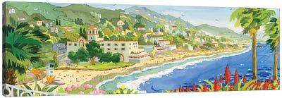 Looking Over Laguna Canvas Art Print