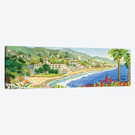 Looking Over Laguna Canvas Print #WAL20} by Robin Wethe Altman Canvas Artwork