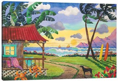 My Island Paradise Canvas Art Print