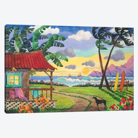 My Island Paradise Canvas Print #WAL23} by Robin Wethe Altman Canvas Wall Art