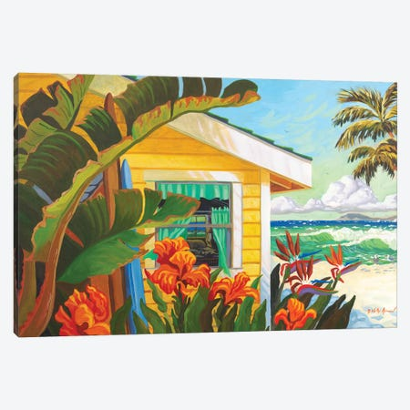 The Cottage At Crystal Cove Canvas Print #WAL38} by Robin Wethe Altman Art Print