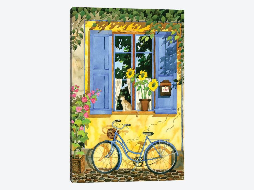 The French Bike by Robin Wethe Altman 1-piece Canvas Wall Art