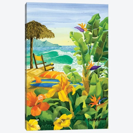 Tropical Holiday Canvas Print #WAL40} by Robin Wethe Altman Canvas Wall Art