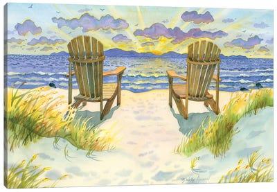 Wait For The Dawn Canvas Art Print