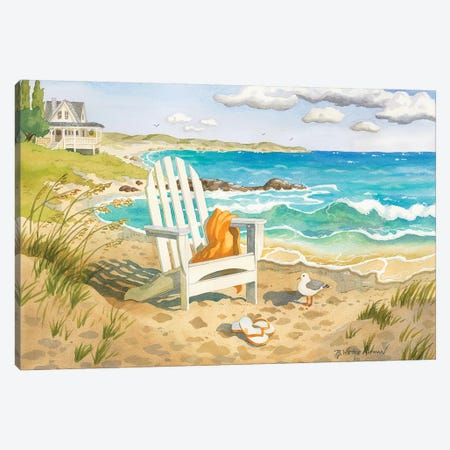 Waiting For You 3-Piece Canvas #WAL44} by Robin Wethe Altman Art Print