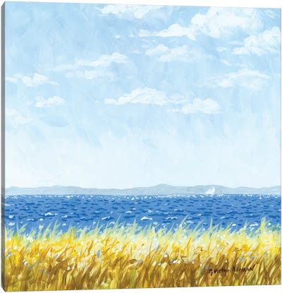 Earth, Sea, And Sky Canvas Art Print