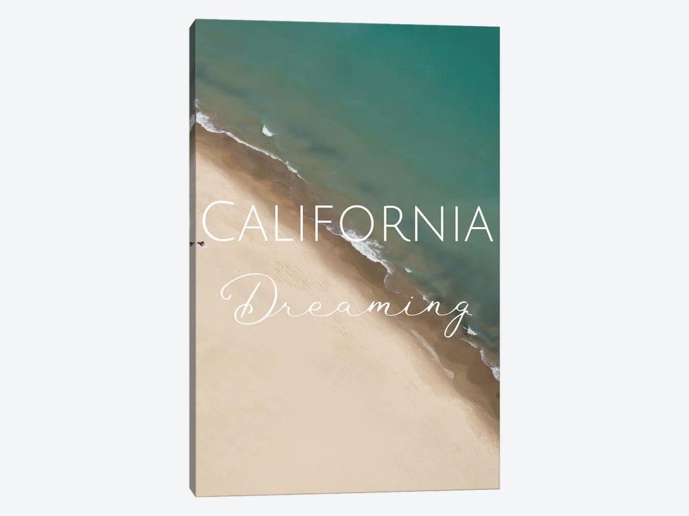 California Dreaming by WordsAndMusicArt 1-piece Canvas Art Print