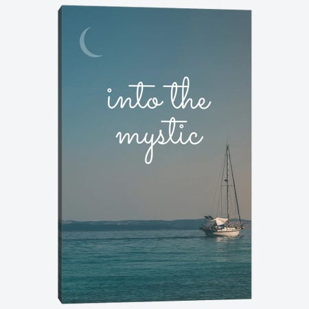 Into The Mystic 2 Canvas Print #WAM87} by WordsAndMusicArt Canvas Wall Art