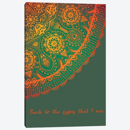 Gypsy | Fleetwood Mac Canvas Print #WAM89} by WordsAndMusicArt Canvas Print