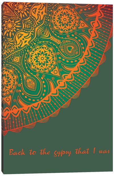 Gypsy | Fleetwood Mac Canvas Art Print