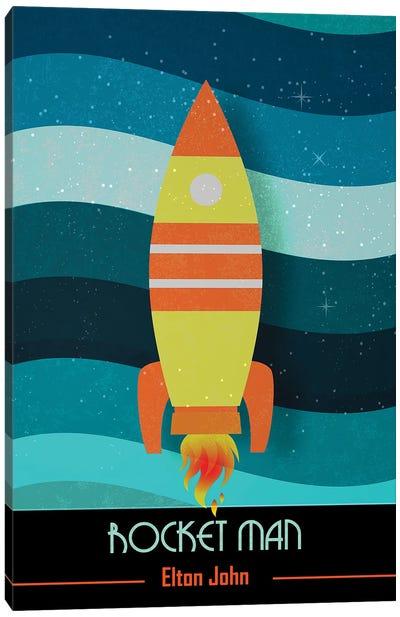 Rocket Man | Elton John Poster Art Canvas Art Print