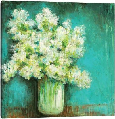 Crystal Hydrangea Canvas Art Print