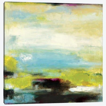 Curragh Green Canvas Print #WAN14} by Wani Pasion Canvas Art