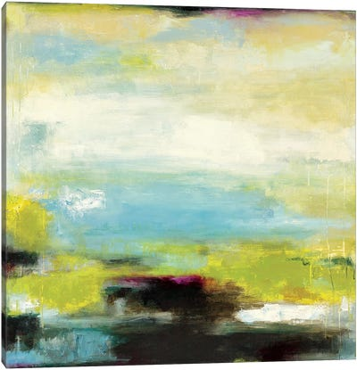 Curragh Green Canvas Art Print
