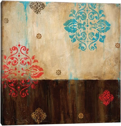 Damask Patterns I Canvas Art Print