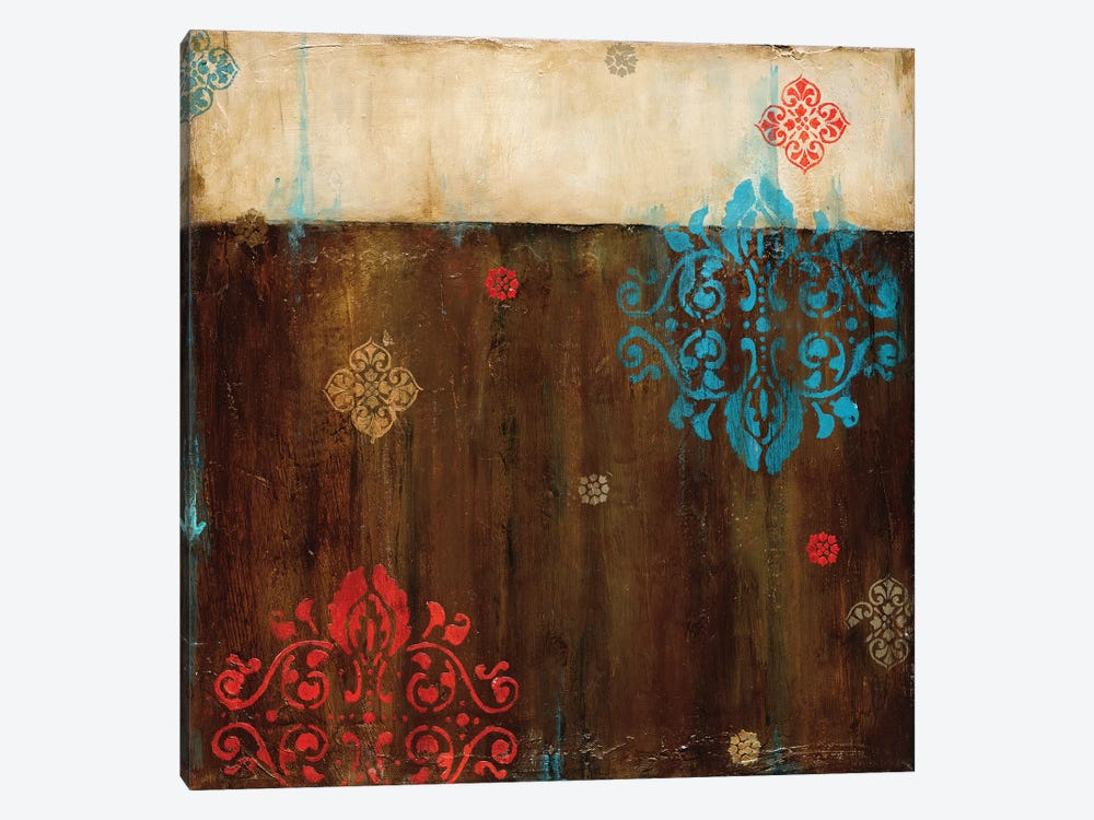 Damask Patterns II by Wani Pasion 1-piece Canvas Artwork