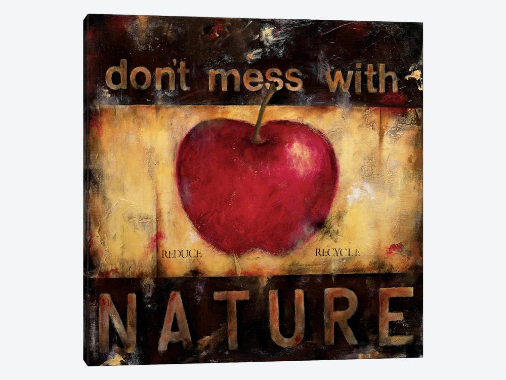 Don't Mess With Nature by Wani Pasion 1-piece Art Print