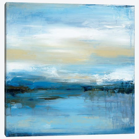 Dreaming Blue I Canvas Print #WAN20} by Wani Pasion Canvas Art