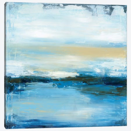 Dreaming Blue II Canvas Print #WAN21} by Wani Pasion Canvas Art