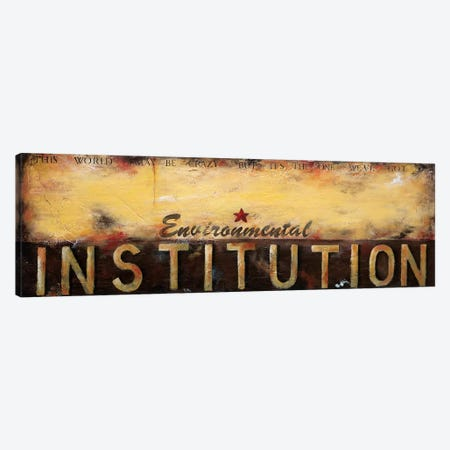 Environmental Institution Canvas Print #WAN23} by Wani Pasion Canvas Artwork