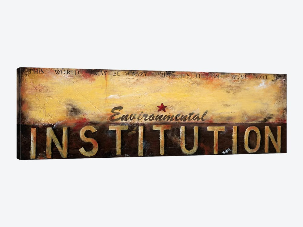 Environmental Institution by Wani Pasion 1-piece Canvas Art
