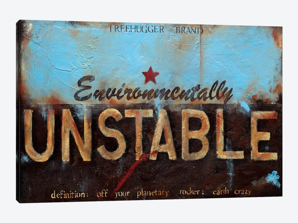 Environmentally Unstable by Wani Pasion 1-piece Canvas Artwork