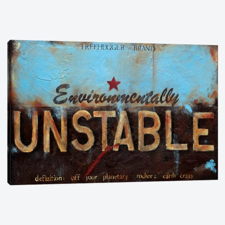 Environmentally Unstable Canvas Print #WAN25} by Wani Pasion Art Print