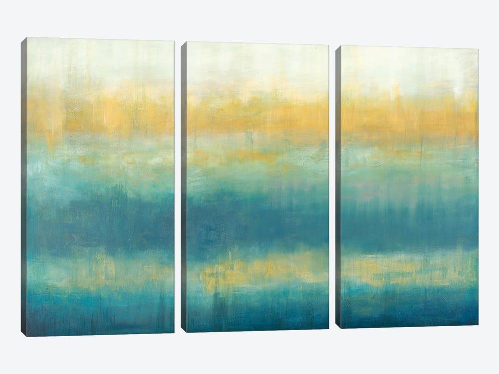 Fire And Rain by Wani Pasion 3-piece Canvas Art Print