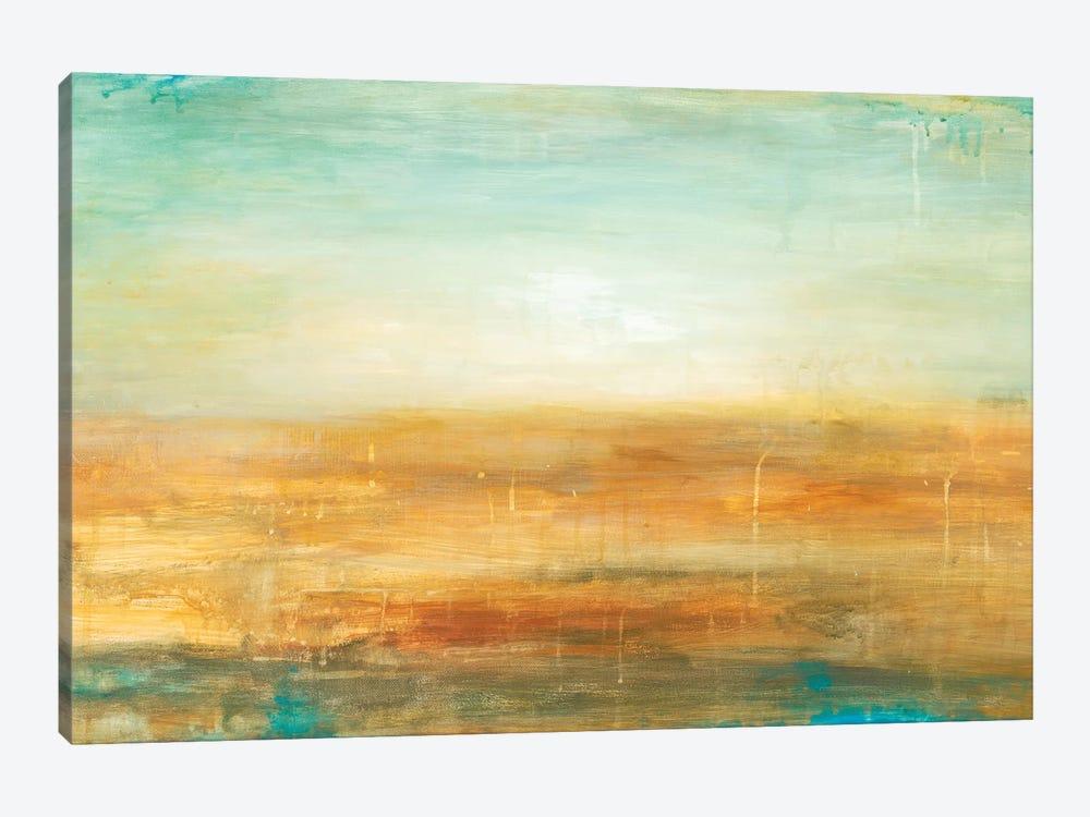 Golden Horizon by Wani Pasion 1-piece Canvas Art Print
