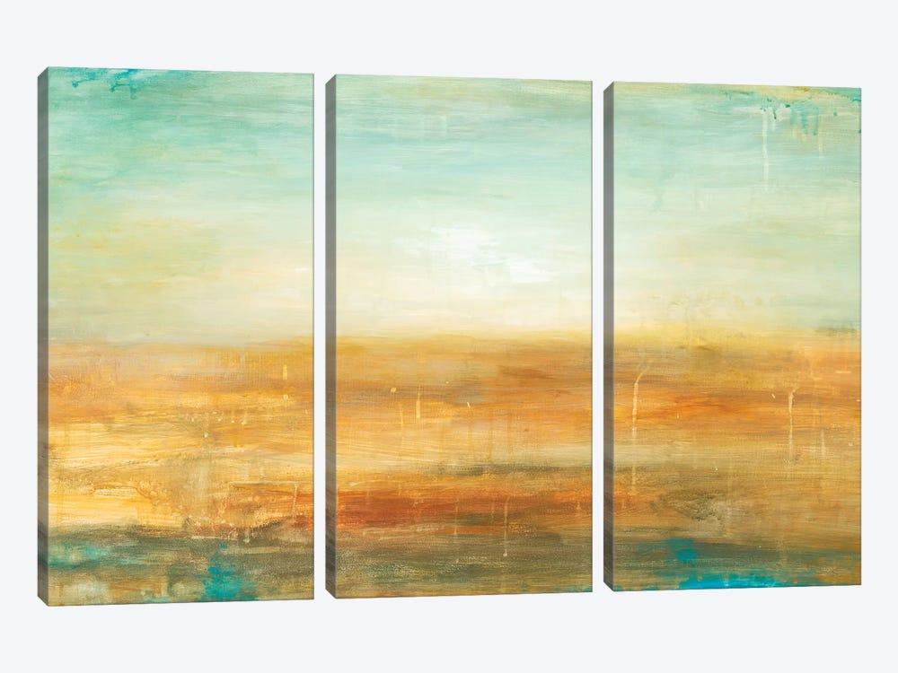 Golden Horizon by Wani Pasion 3-piece Art Print
