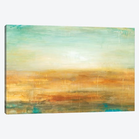 Golden Horizon Canvas Print #WAN28} by Wani Pasion Canvas Wall Art