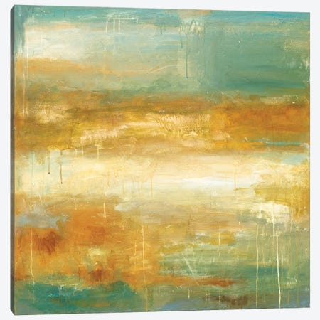 Golden Possibilities Canvas Print #WAN29} by Wani Pasion Canvas Wall Art