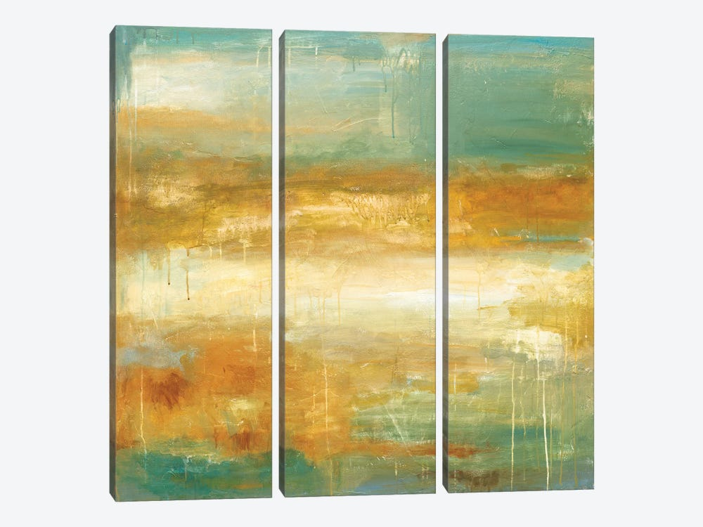 Golden Possibilities by Wani Pasion 3-piece Canvas Wall Art