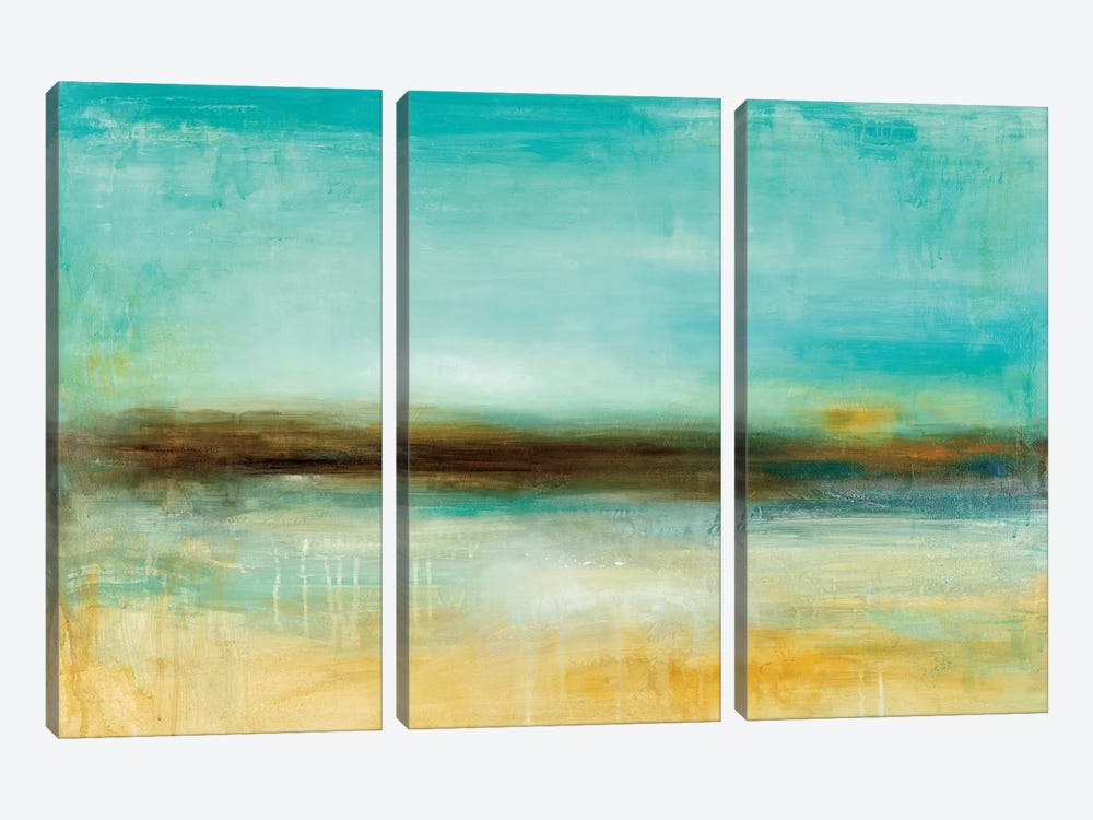 Ana's Pier by Wani Pasion 3-piece Canvas Artwork
