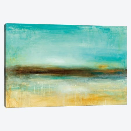 Ana's Pier Canvas Print #WAN2} by Wani Pasion Canvas Artwork