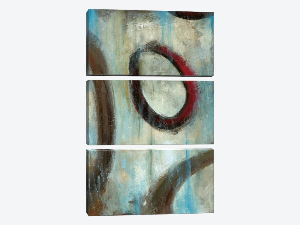 Grayson's Loops I by Wani Pasion 3-piece Canvas Artwork