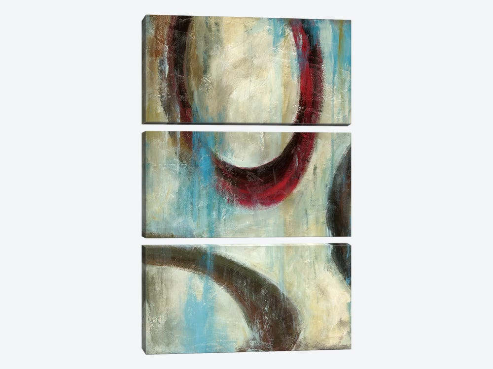Grayson's Loops II by Wani Pasion 3-piece Canvas Art Print