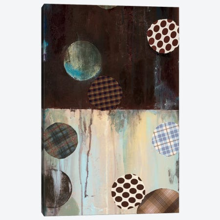 Grayson's Patches I Canvas Print #WAN32} by Wani Pasion Art Print