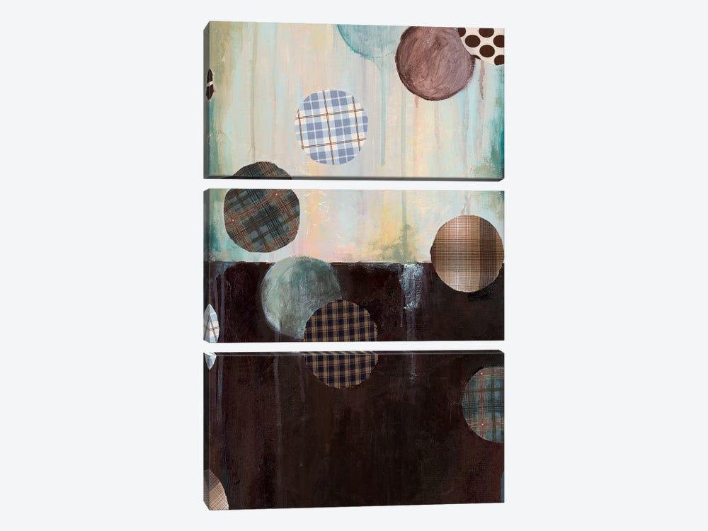 Grayson's Patches II by Wani Pasion 3-piece Art Print